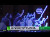 'Can't pepper spray a ghost': Holograms parade in Madrid enraged over anti-protest 'gag law'
