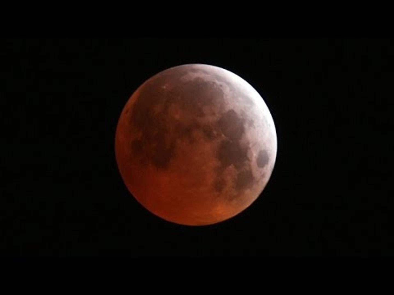 'Blood Moon': Total lunar eclipse over US (NASA STREAM)