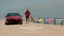 David Hasselhoff en sauveteur sur la Muscle Car Beach de Dodge