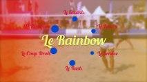 Le beach tennis - les coups : le rainbow