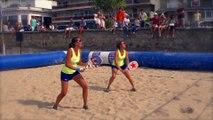 Le beach tennis - les coups : le bras roulé