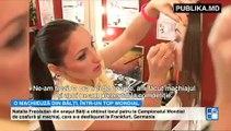 O machieuză din Bălţi s-a clasat în top cinci cei mai buni make-up artişti din lume