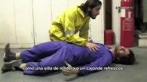que hacer cuando una persona sufre un shock electrico  .flv