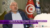"""L'homosexualité """"interdite dans les sociétés régies par l'islam"""", pour Rached Ghannouchi"""