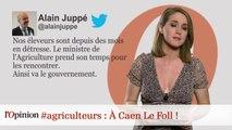 #agriculteurs : À Caen Le Foll !