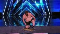 The Human Tackboard Pain Junkie Belly Flops on Thumb Tacks Americas Got Talent 2015