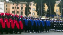 Inno Nazionale e Frecce Tricolori alle celebrazioni per l'anniversario dell'Unità d'Italia