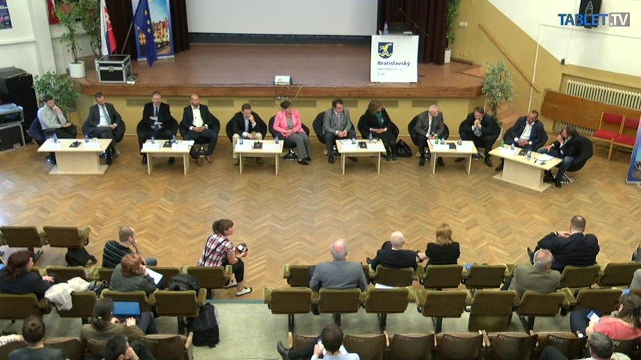 ZÁZNAM: Odborná diskusia o výstavbe novej nemocnice v Bratislave (2)