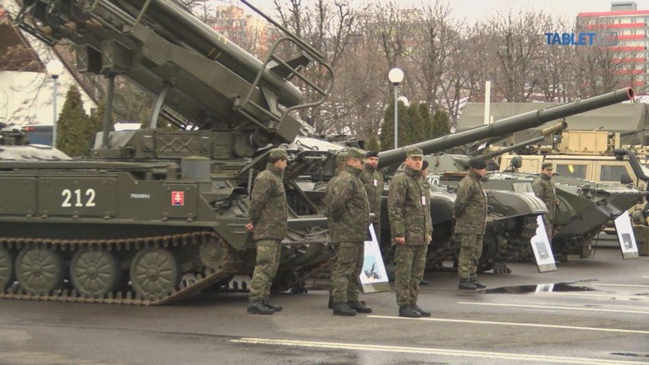 Kiska a Glváč si pozreli výzbroj Ozbrojených síl SR: Treba modernizovať, ale transparentne