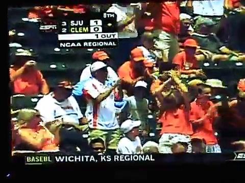 Clemson Baseball Regional Highlights