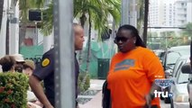 South Beach Tow :  Bernice gets cuffed by a Fake Cop