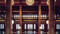Revamp of Eadry Royal Garden Hotel in Hainan Province China features chinese royal architecture