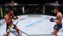 ᴴᴰ Rafael Dos Anjos vs. Anthony Pettis Knockout _ EA SPORTS™ UFC® (1080p)