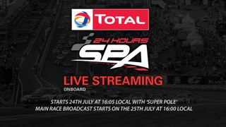 Total 24hrs of Spa 2015 LIVE