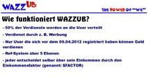 Online Geld verdienen mit WAZZUB - Deutsch - Geld verdienen im www - www.ebutuoy.de
