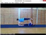 Dans og udtryk og boldbasis Simon og Niklas