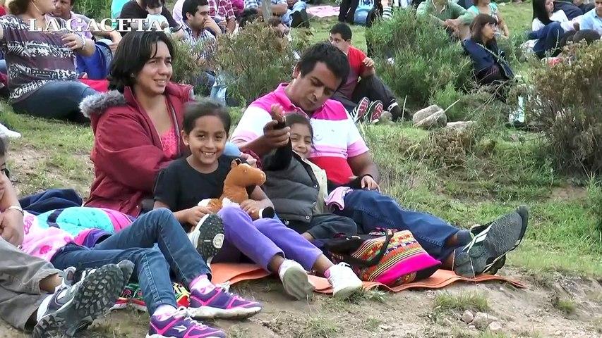 Tafí del Valle: La Pasión permitió a miles de turistas revivir la vida de Jesucristo