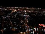 Top of the Stratosphere Tower in Las Vegas (Clip 2)