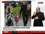 David Cameron son dies Before he died David Cameron talks on Radio about his illness