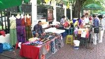 Thaïlande: la fête continue à Bangkok