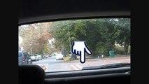 14 - Left reverse around corner - Park Driving School Cheltenham - Manoeuvre - UK Driving test 2011