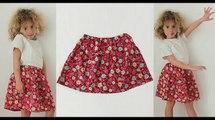 Cours de couture - Comment coudre une jupe pour petite fille - Tuto de couture