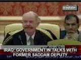 IRAQ: IN TALKS WITH SADDAM DEPUTY  محادثات مع عزت الدوري
