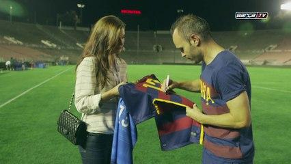 Alex Morgan se ofrece para jugar en el Barça - Vídeos de La Afición del F.C. Barcelona