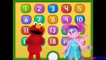 Elmo 1234 - Number 9 - Elmo 123 count with me, Sesame Street Elmo count with me by DisneyToysReview