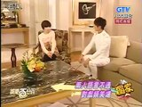 101019 100% Ent. News - Ku Hye Sun & Wu Chun interview @ Absolute Darling filming
