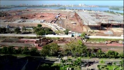 Avancée des travaux pour Rio 2016