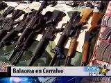 """Graban Balacera en Vivo Policía Federal vs Sicarios del Chapo en Monterrey  """"6 Sicarios Muertos"""""""