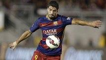 Premier but de la saison pour Luis Suarez !