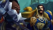 Bolvar challenges Arthas [WoW: wotlk SPOILER]