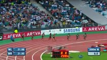 Allyson Felix gets Diamond League win in 200m - from Universal Sports