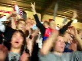 Aalborg BK (AaB) Fans in Aalborg