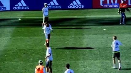 Prueba de Velocidad- Cristiano Ronaldo vs Luka Modric
