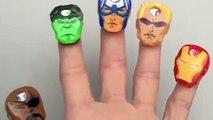 Marvel Avengers Assemble Finger Family Song Children Nursery Rhymes Hulk Captain America Iron Man Lo