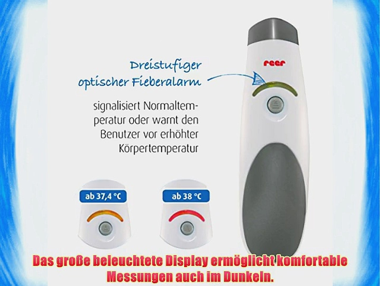 REER SkinTemp kontaktloses Fieberthermometer Infrarot-Thermomer 98020