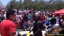 Los Mejores Arrancones En Playa Mira Mar | Motos De Carreras | Motos Tuning