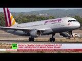 Germanwings co-pilot crashed plane deliberately - prosecutor