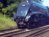 North Yorkshire Moors Railway - A4 Pacific 60007 Sir Nigel Gresley At Grosmont