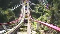 Thunderbolt Wooden Roller Coaster Front Seat POV Onride Kennywood PA