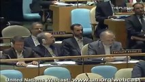 Discours intégral du Président de l'IRAN-Mahmoud Ahmadinejad-ONU 2011 - 1de2