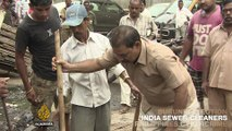 On Al Jazeera: India sewer cleaners stuck in dirty situation
