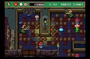 Sega Saturn - Saturn Bomberman (Areas 1-5, 1-6, and Boss Battle)