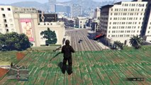Grand Theft Auto V Snipers VS stunters ccc challenge from a sub named anwar pt. 2