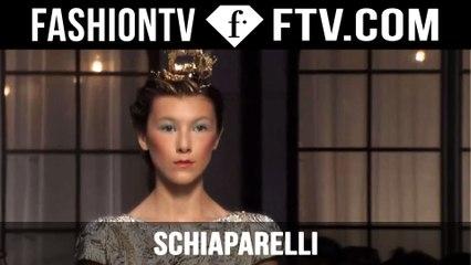 Schiaparelli Designer's Inspiration | Paris Haute Couture Fall/Winter 2015/16 | FashionTV