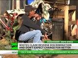 Aumenta el racismo y la discriminación contra los blancos en Sudáfrica