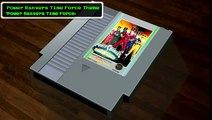 Power Rangers Time Force「Power Rangers Time Force Theme」8bit